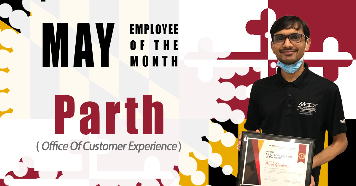 Employee of the month for December - Darryl Mason