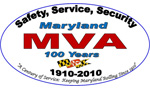 Maryland MVA 100 Years Logo