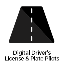 Digital Driver's License & Plate Pilots