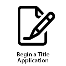 Begin a Title Application