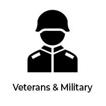 Veteran or member of the Military